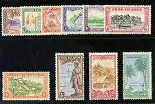 Cook Islands 1949 KGVI Pictorial set complete MLH. SG 150-159. Sc 131-140.