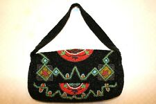 Christiana Beaded Handbag Purse Made In India FREE SHIPPING!