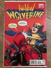 Variant All-New Wolverine #4 Retailer Incentive Deadpool Batman Meme CGC It!