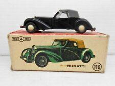 1352 ANGUPLAS MINI-CARS COCHE BUGATTI REF 110  MODEL CAR 1/86 HO MINIATURE