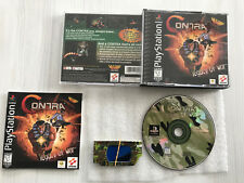 CONTRA LEGACY OF WAR Sony PlayStation PS1 USA Complete 3D GLASSES MINT