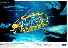 PUBLICITE ADVERTISING 026  1997  Ford  la Galaxy  monospace  (2p)