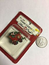 Dollhouse miniatures Christmas train Caboose