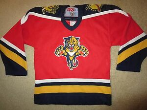 Ed Jovanovski #55 Florida Panthers CCM NHL Jersey Youth Boys S/M M 10-12 medium