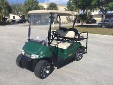 Green 2012 Ezgo rxv 4 passenger seat golf cart AC MOTOR 48v lights
