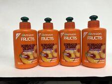 4pk GARNIER FRUCTIS Fortifying Hair Cream BORRADOR DE DANO 10.1oz