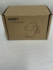 Aukey Cell Phone Holder for Car Air Vent Phone Holder Car Mount - Black
