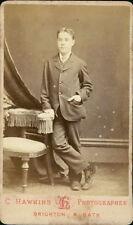 Brighton. Young man by Hawkins, Preston Street (JD.10)