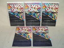 Uncanny X-Men #300 LOT 5 Copies! John Romita Jr Signed COA 1993 Marvel (s 10510)