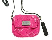 Marc By Marc Jacobs 127791 Pop Pink Multi Small Swing/ Crossbody Bag