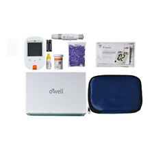 Self Testing Blood Sugar Kit Diabetic Health Aid Tester Glucose Monitor Set