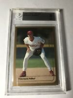 1999 PAT BURRELL Topps Chrome Traded #T44 ROOKIE BGS 9