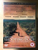 Shooting Dogs DVD 2004 True Life Rwanda Africa Genocide Drama
