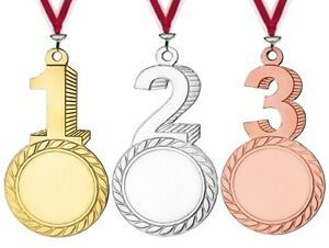 48 Stück originelle Medaillen für Sieger mit Emblem & Band nur 37,95 EUR