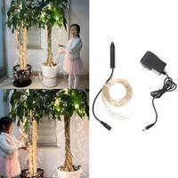 200LED 10Strand 2M star tree vine String lights For Wedding Christmas Room S5H3