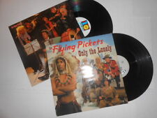 "The Flying Pickets U.K Import 12"" Record Single Lot, Only the Lonely, Who's That"