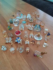 Crystal And Glass Miniatures x 35