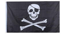 Skull Pirates Flag Jolly Roger Hanging Banner Pirates Flag For To Decorate