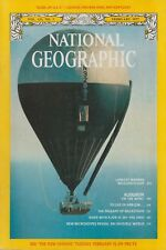 National Geographic (Feb 1977) Silver Fox Balloon Across the Atlantic