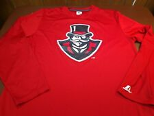 6cf7a97b7 Austin Peay Governors T Shirt by Russell Athletics 100% Polyester Large S9