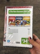 The New Answers DVDs 1-3 Pack by Ken Ham NEW ANSWERS IN GENESIS