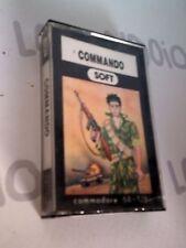 Retro Game Gioco per Commodore 64 / 128 COMMANDO soft