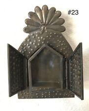 Small Mexican Tin Nicho Shadow Box - Vintage Style Frame- Folk Art - New