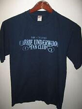Carrie Underwood Official Fan Club Country Western Music Singer T Shirt Medium