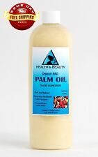 PALM OIL RBD ORGANIC by H&B Oils Center COLD PRESSED PREMIUM PURE 16 OZ
