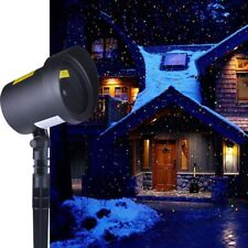 Star Laser Motion Lights Led Projector Waterproof Outdoor Garden Christmas Decor