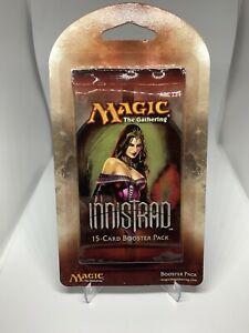 Magic the Gathering: Innistrad Booster Pack - Sealed! Hard To Find Blister Pack!