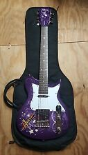Washburn Electric Guitar Hannah Montana 3/4 Size With pick up set, & Gator case