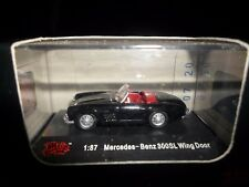 Malibu International Mercedes Benz 300SL Wing Door Black 1:87 HO Train Scale NIB