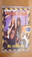 The Rolling Stones – No Security POLAND CASS TAPE SEALED MINT ... FREE SHIPPING
