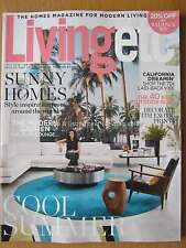 Living Etc July 2016 Sunny Homes Modern Garden Exotic Prints Outdoor Buys