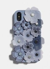 Coach Phone Case RARE* MSRP $75 !! FREE SHIPPING 3D FLOWER CASE Rare Sold out XR