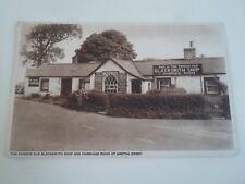 Vintage Postcard Famous Old Blacksmith Shop+Marriage Room at Gretna Green §A683