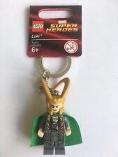 LEGO 850529 LOKI KEY CHAIN BRAND NEW SUPER HEROES KEYRING