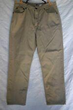 "L.L. Bean Women's Beige Khaki Denim Jeans Size 14R Inseam 29.75"" 100% Cotton"