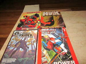 Marvel Graphic Novel Lot L (10 GN's for about the price of 2 sale!)