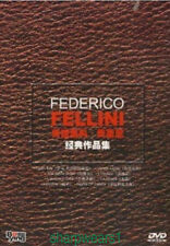 DVD Italian Director Federico Fellini Movie collection 8DVD free shipping