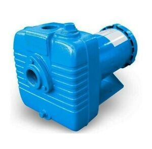 "Centrifugal Close Coupled Pump - 1.5"" Ports - 230 V - 95 GPM - 84 ft Head - 3 Ph"