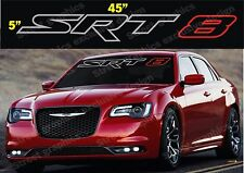 CHRYSLER, CHALLENGER, CHARGER, JEEP OR ANY STR-8 WINDSHIELD VINYL DECAL STICKER