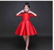 KIDS DRESS CINDERELLA -  RED