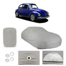 Classic Volkswagen Super Beetle 6 layer Car Cover Water Proof Rain Snow Sun Dust
