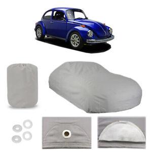 Classic Volkswagen Super Beetle 6 layer Car Cover Water Proof Rain Snow Sun Dust