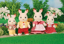 *NEW* SYLVANIAN FAMILIES 4150 Chocolate Rabbit Family - set of 4 - Adults 8cm
