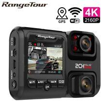 4K 2160P WIFI GPS Logger Dual Lens Car DVR Novatek 96663 Chip Sony IMX323 Sensor