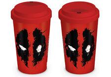 Deadpool (Splat) Tasse de voyage MGT23839 - 12oz/340ml