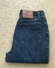 Mens Levis 501 xx made in USA straight leg blue denim jeans W 30 L 33